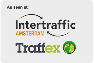 As seen at Intertraffic Amsterdam and Traffex
